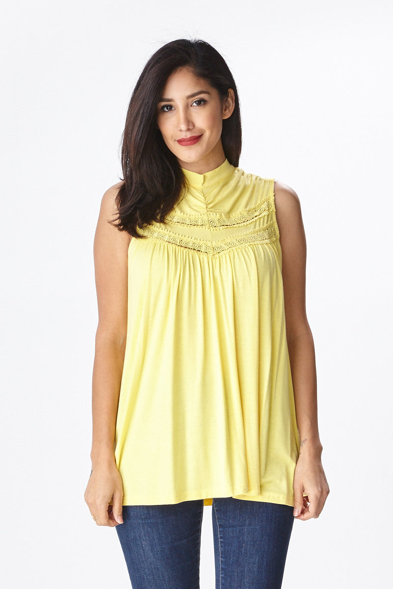 Spring Fling Lace Tank - Good Row Clothing  - 7