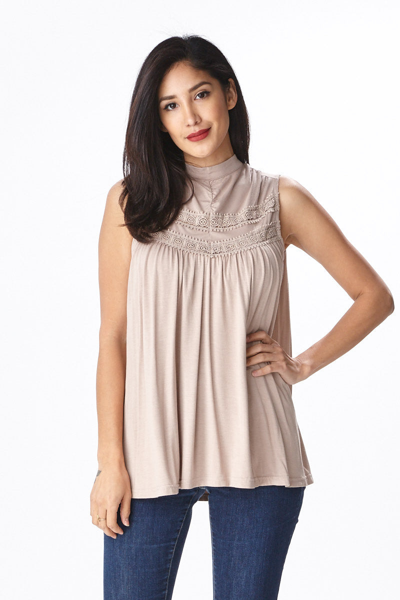 Spring Fling Lace Tank - Good Row Clothing  - 6