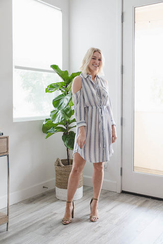 miss love: Everyday Denim Chambray Tunic