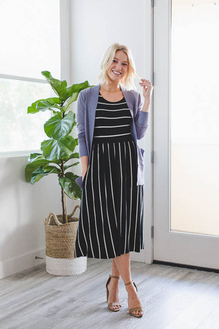 The Everyday Cardigan in Black