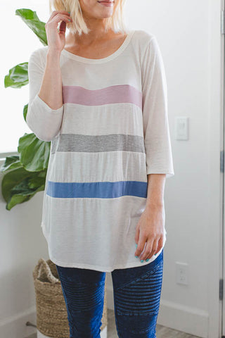 Field Day Striped Top