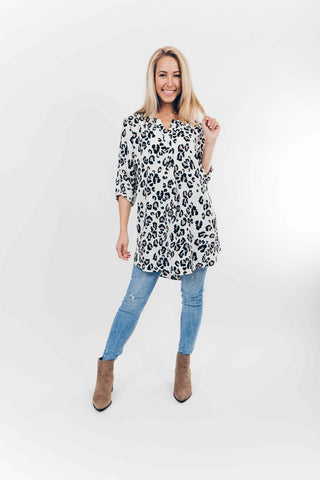 Jana Cold Shoulder Dress