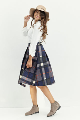 Truly A-Line Skirt in Navy