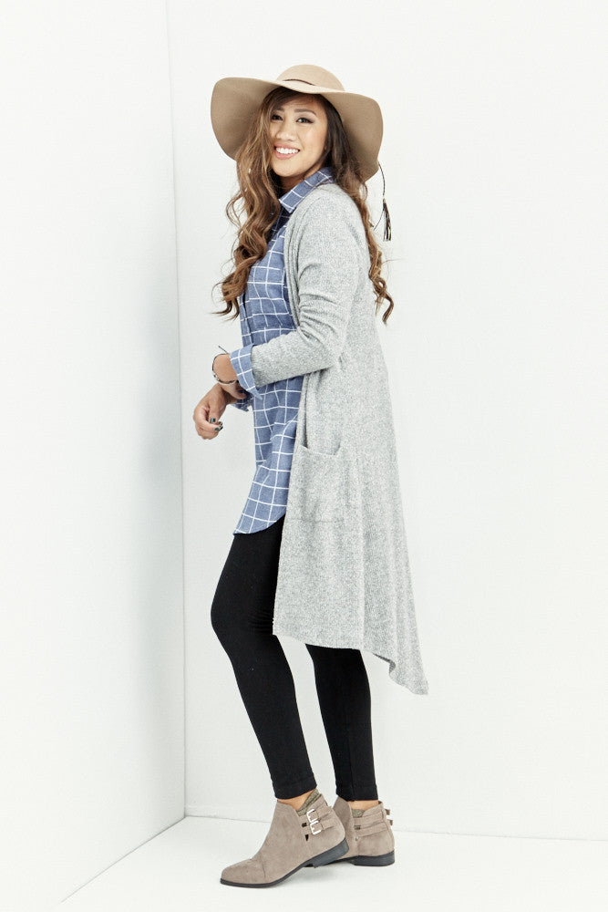 miss love: Everyday Denim Chambray Tunic - Good Row Clothing  - 7