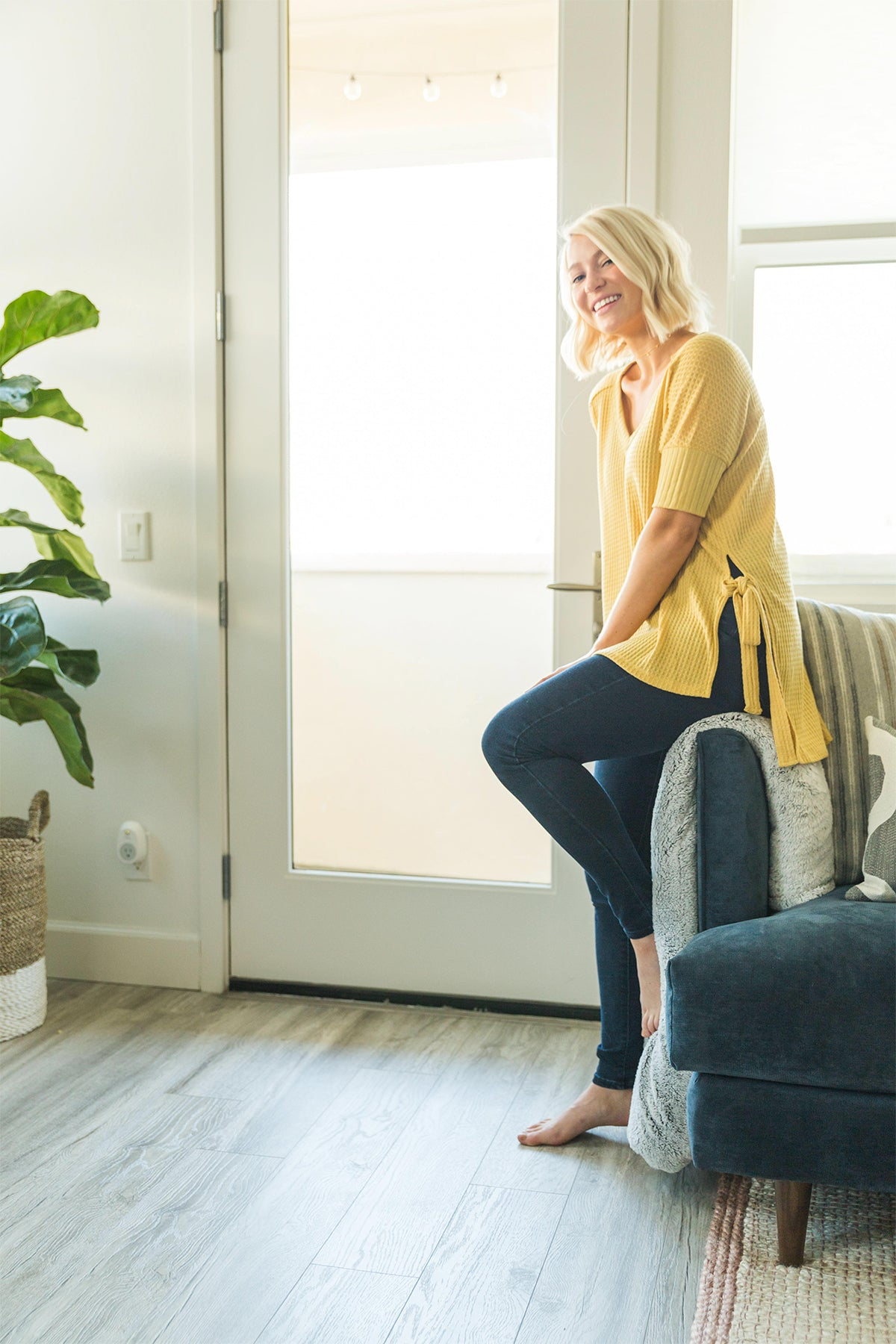 Forever Comfortable Tunic in Yellow