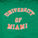 University of Miami T-shirt