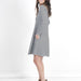 Alice Long-Sleeve Swing dress