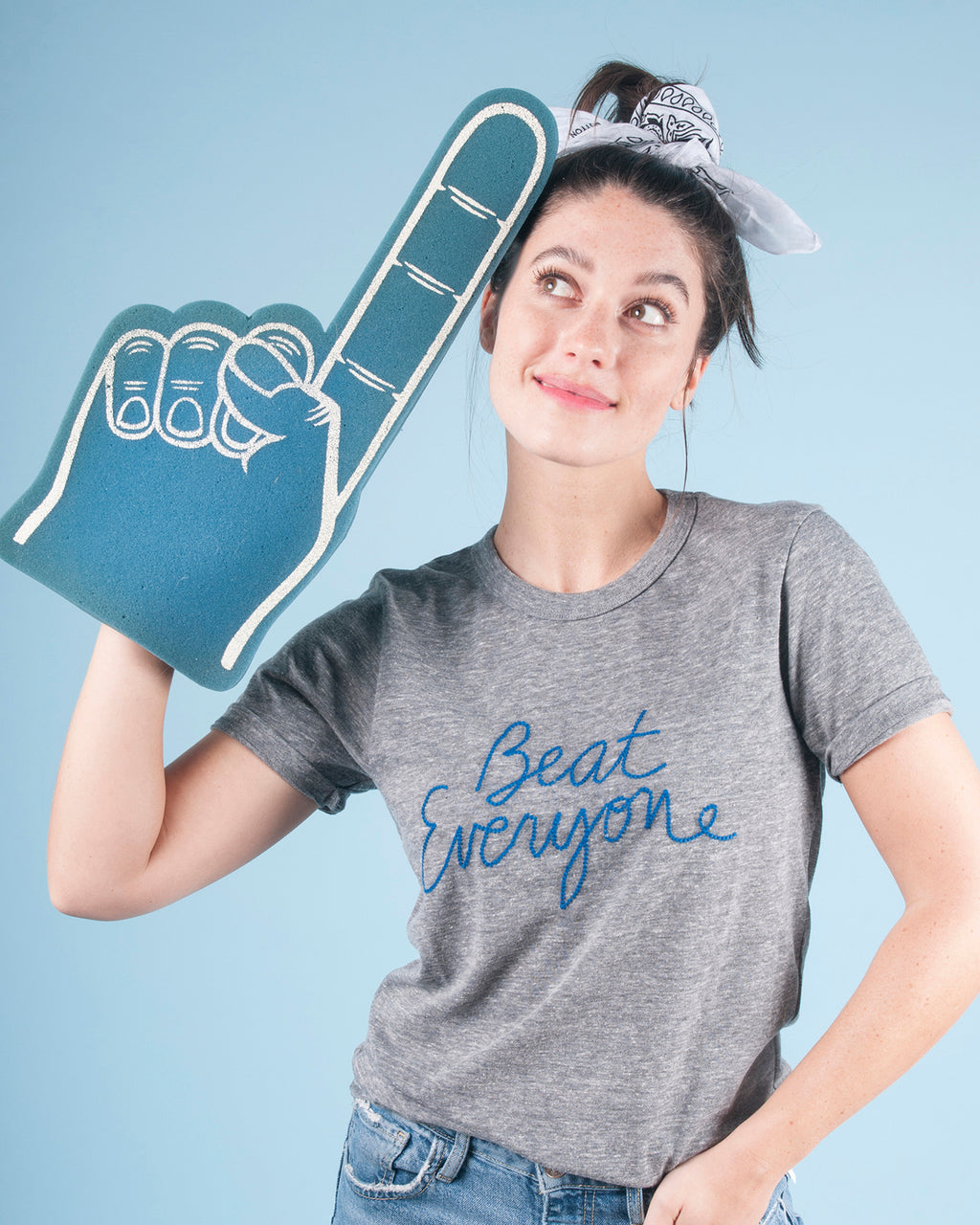 """Beat Everyone"" Tee"