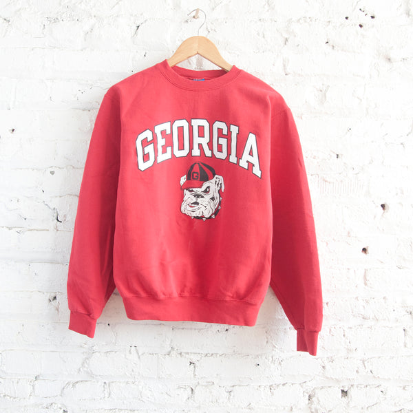 UGA Vintage Red Sweatshirt