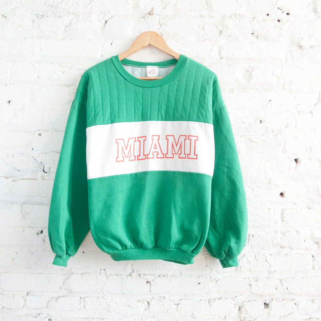 University of Miami Rugby Sweatshirt