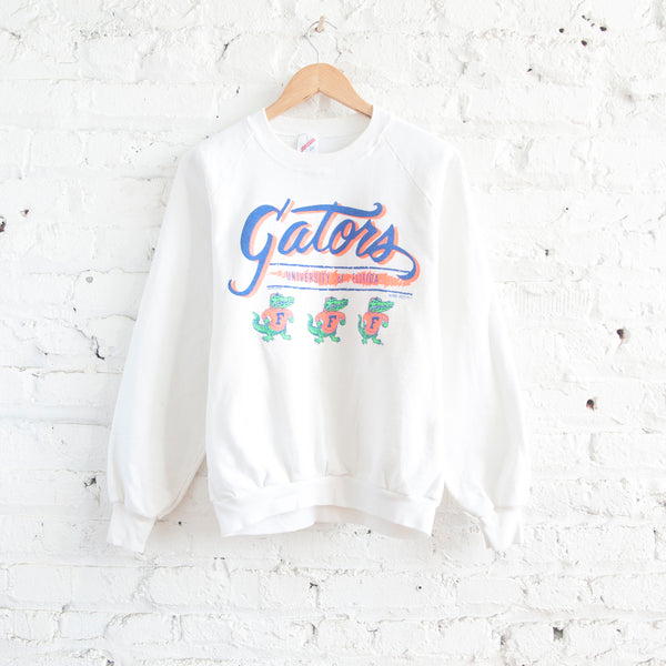 UF White Gators Sweatshirt
