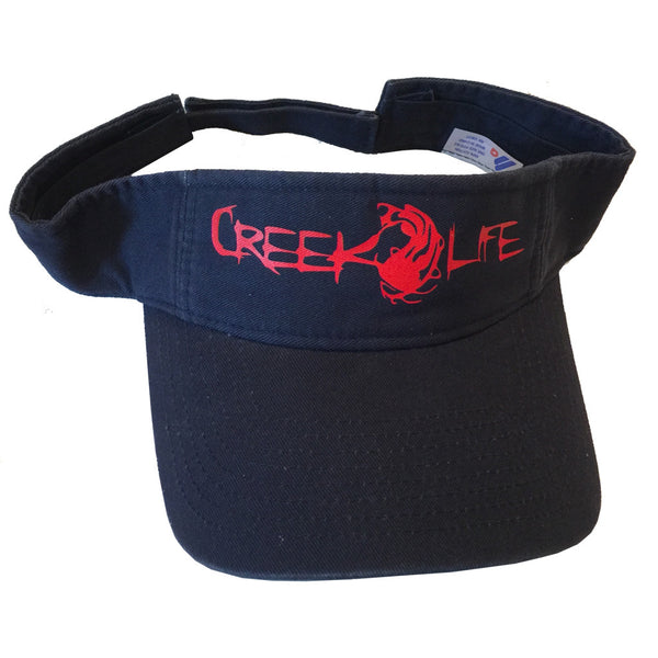 Printed Solid Low-Profile Twill Visor (Various Colors)
