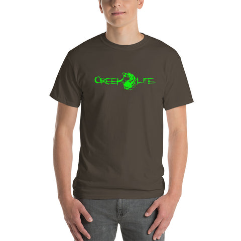 Creek Life Short-Sleeve T-Shirt - Neon Green