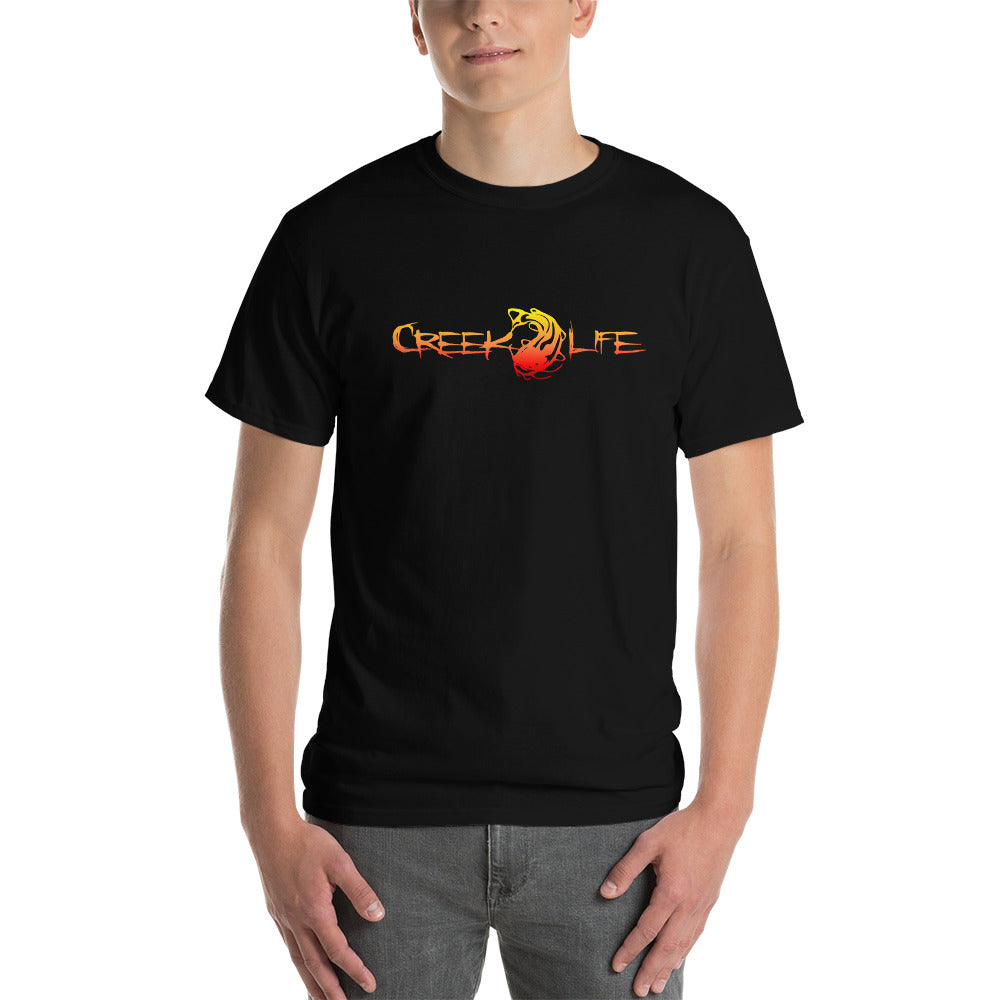 Creek Life Short-Sleeve T-Shirt - Yellow/Red Fade