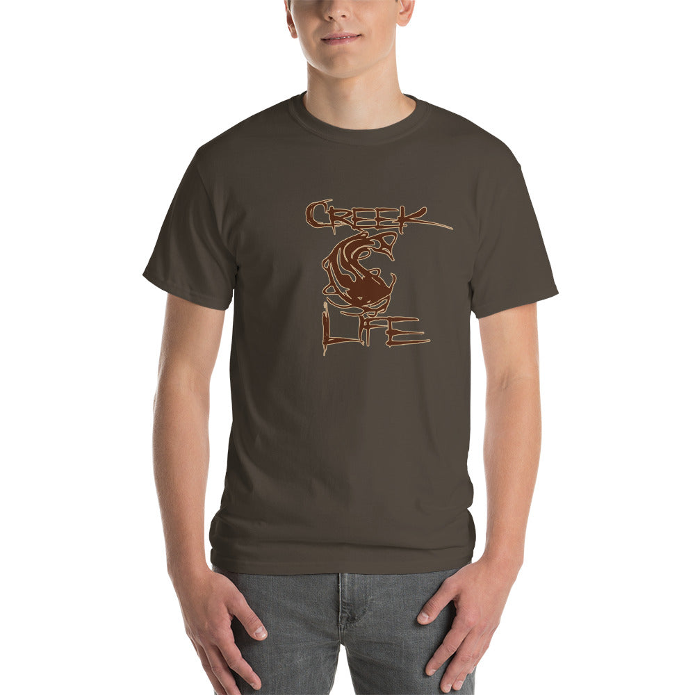 Creek Life Short-Sleeve T-Shirt - Brown/Tan