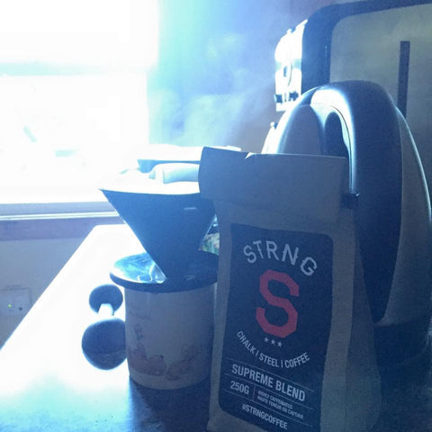 strng coffee bag