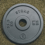 STRNG Cast Iron 25lbs/11.3kg Plates - Pair