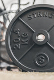 strng cast iron matte black 45lbs 20.4kg