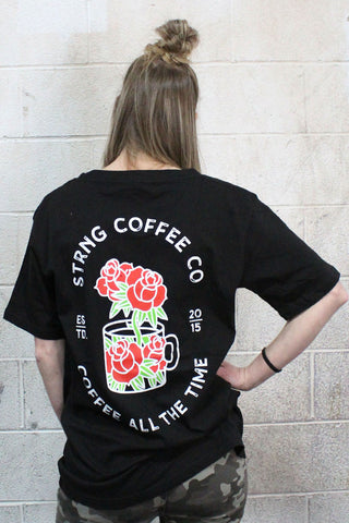 Cup N' Roses Oversize Tee