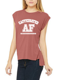 Caffeinated AF Flowy Muscle Tee