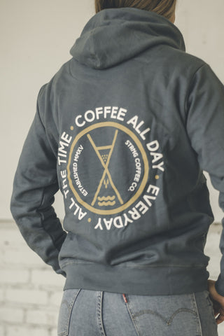 Coffee All The Time Unisex Hoodie