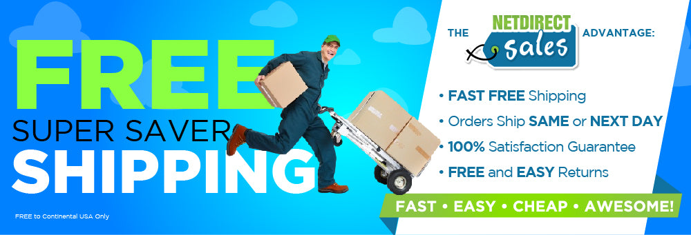 FREE Shipping from Netdirect Sales
