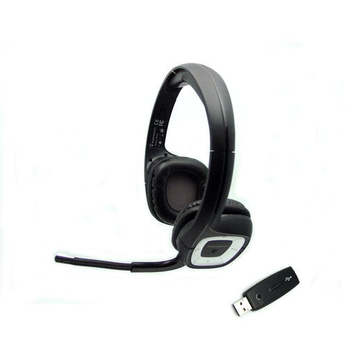 Plantronics .Audio 995 Wireless Stereo Headset for PC 40ft Range Plug-and-Play