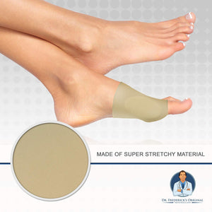 Dr. Frederick's Original Gel Pad Bunion Sleeves - 2 Booties for Bunion Relief Before and After Bunion Surgery