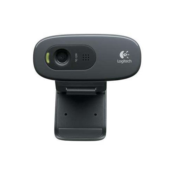 Logitech C270 3.0MP HD Webcam w/ Mic for Desktop Laptop PC