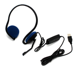 Plantronics Audio 646 DSP Over the Head USB Stereo Headset for PC & Mac