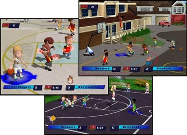 NEW Backyard Basketball Hockey Football PC 4 Game LOT