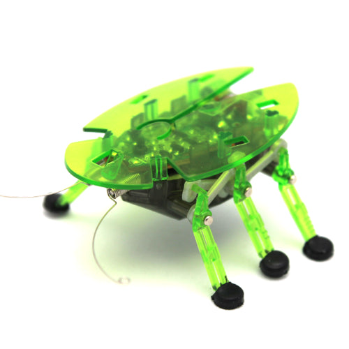Original Hexbug Bravo Micro Robotic Creature Reacts To Touch & Sound Green