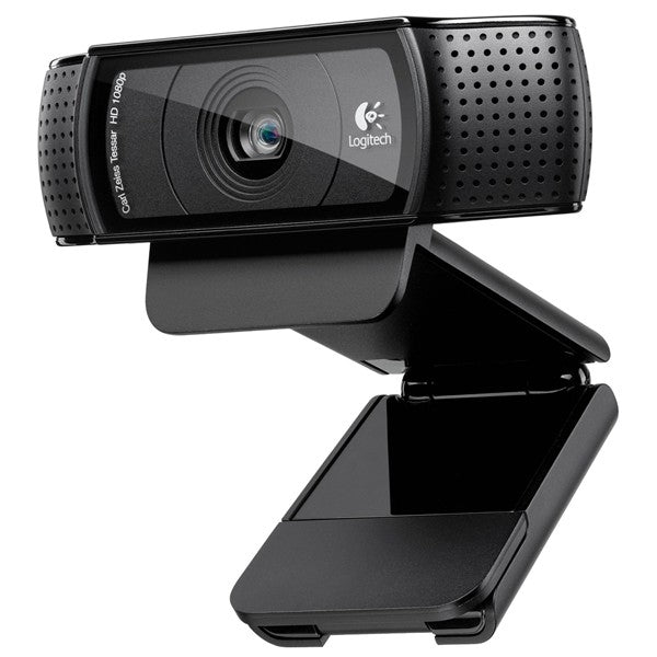 Logitech C920 HD Pro Webcam 1080p Widescreen Video Calling & Recording for PC