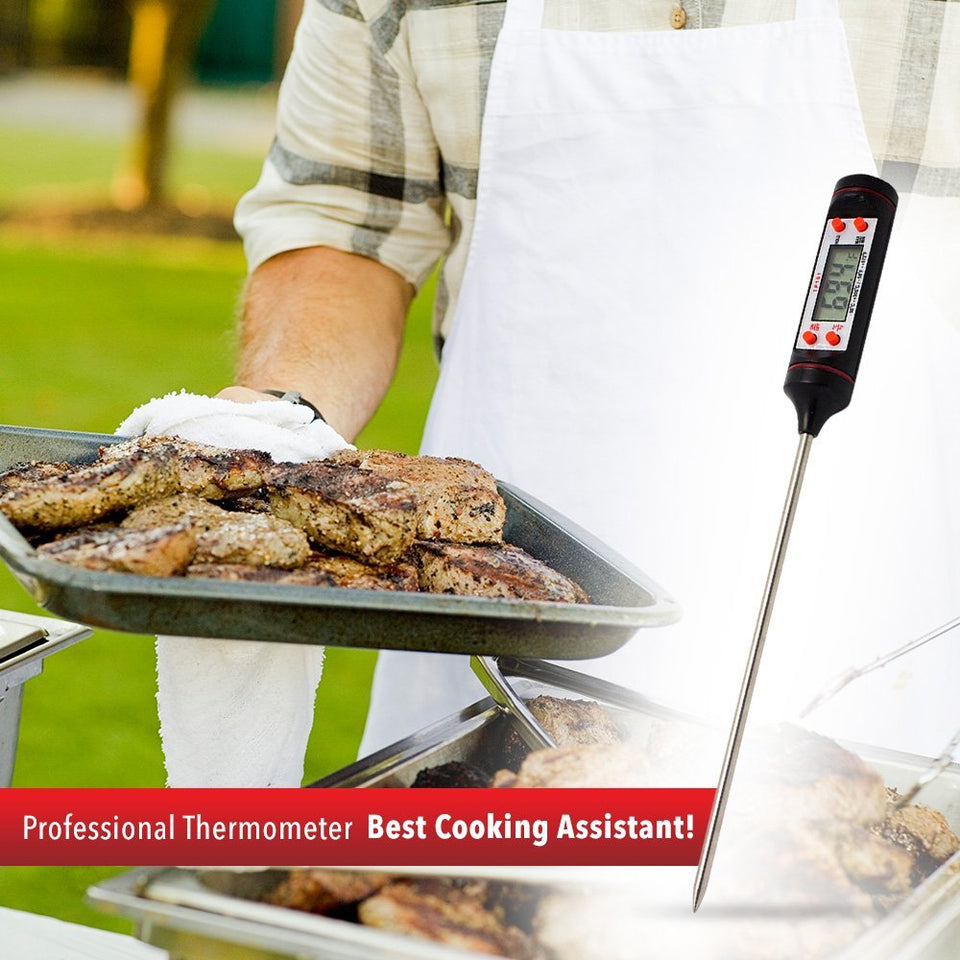 CookArt Digital Cooking Food Probe Instant Read Thermometer Meat Kitchen BBQ