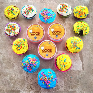 CookArt 12 Silicone Cupcake Liner Holders Baking Cups Mold Bake Muffin Dessert