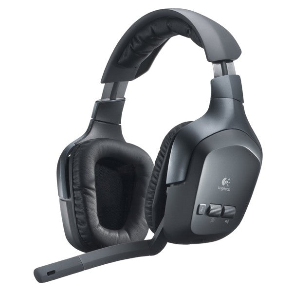Logitech F540 Wireless Stereo Gaming Headset Headband for Xbox 360 & PS3