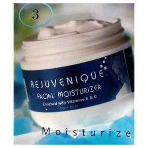 Rejuvenique Kit Facial Moisturizer Eye Toner Hand Treatment Cream Body Lotion