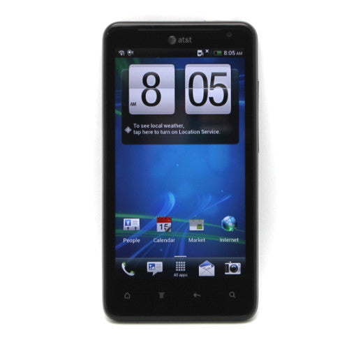 "HTC Vivid 4G LTE 8MP 4.5"" LCD Display 16GB Black Android Phone For AT&T"