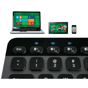 Logitech Bluetooth Illuminated Keyboard K810 for PC Tablets & Smartphones