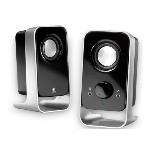 Logitech LS11 2.0 Stereo Speaker System w/ 3.5MM Headset Jack for CD MP3 PC