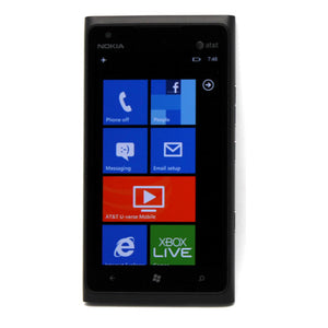 "Nokia Lumia 900 4.3"" Display 8MP & 16GB Windows Touchscreen Phone for AT&T Black"
