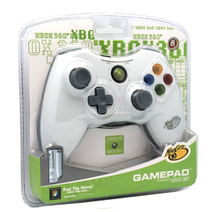 Madcatz Xbox 360 Wired USB Controller W/ Analog Triggers and Joysticks White
