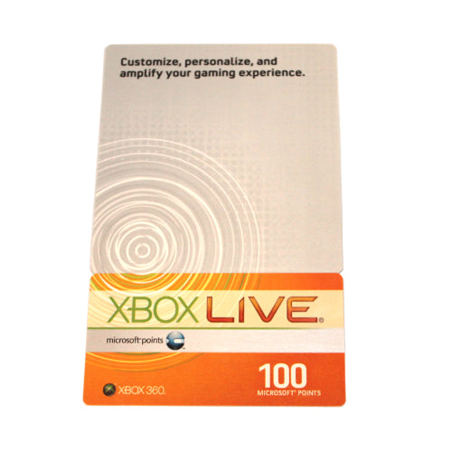 Xbox Live 1600 Microsoft Points Lot of 16 Prepaid Cards for Xbox 360 Live
