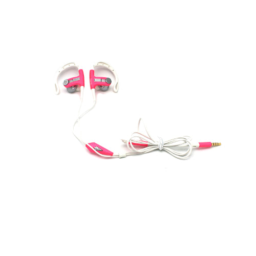 Genuine Beats By Dr. Dre Power Beats Over The Ear Sport Headphones Pink