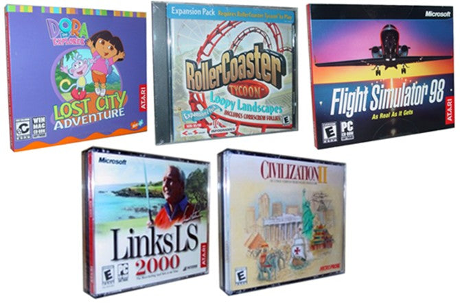 NEW Civilization Dora Links LS PC 5 Game Lot Bundle