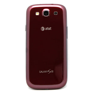 Samsung Galaxy SIII 16GB 1080p HD Display 8mp Camera Red Smartphone For AT&T