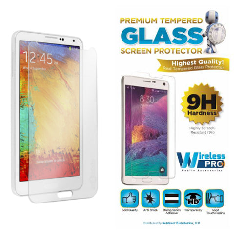 Tempered Glass Screen Protector for Samung Note 3 9H Highly Scratch Resistant
