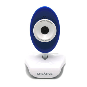 Creative Live! Cam Video IM VF0350 Blue Webcam 1.3 Mp Built In Microphone