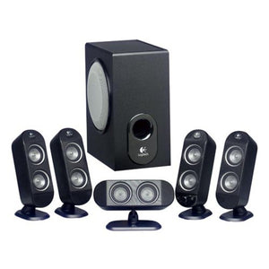 Logitech X-530 5.1 Surround Sound 70W Speaker System w/ Subwoofer