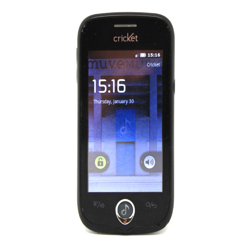 ZTE Chorus D930 3G Smartphone With 2Mp Camera and Muve Music For Cricket  Black